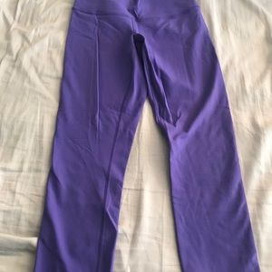 Lululemon Wunder Under Crops - Worn Once!!